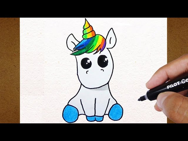 Como-desenhar-unicórnio