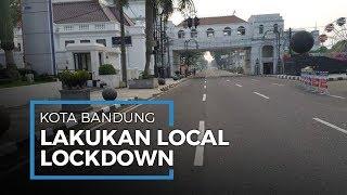 Cegah Corona Makin Menyebar, Bandung Lakukan Local Lockdown hingga Penjagaan Polisi Diperketat