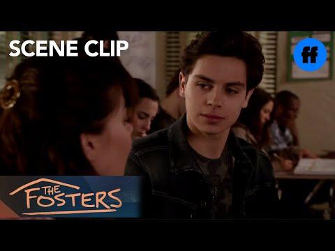 The Fosters 1.20 (Clip 'Winter Ball Invite')