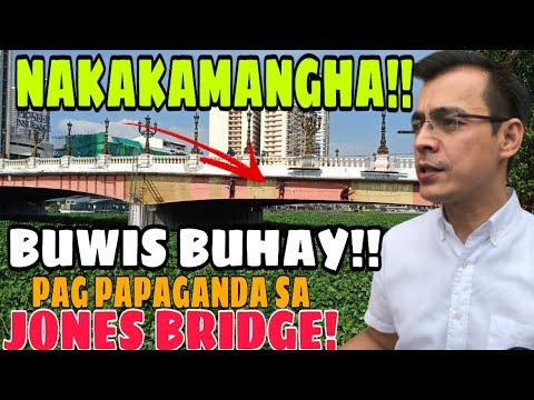 Jones Bridge Update:WOW!Walang Day Off Day Off,Kahit Linggo Tuloy Ang Pag Pipintura