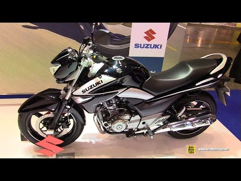 2015 Suzuki Inazuma 250 - Walkaround - 2014 EICMA Milan Motorcycle Exhibition
