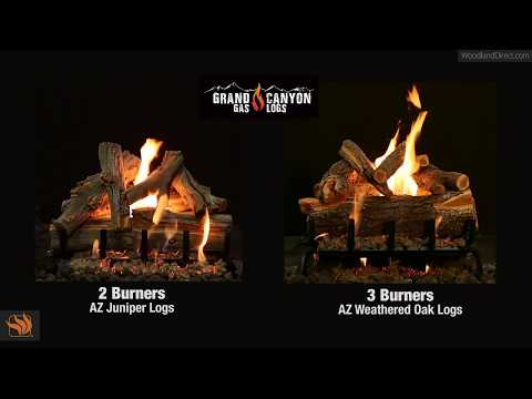 Grand Canyon Gas Logs 2 and 3 Burner Systems