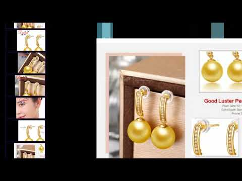 DAIMI Gold Pearl Earrings review