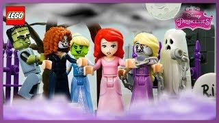 ♥ LEGO Disney Princess Ariel SCARY STORIES Stop Motion Animation Cartoon For Kids