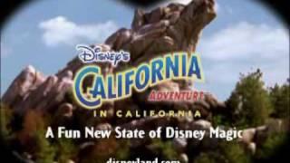 Disney's California Adventure's 2001 Commercial