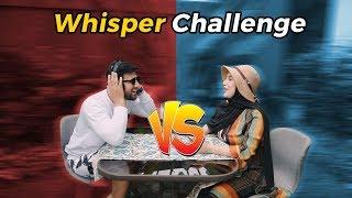 Whisper Challenge! Irish Bikin Ammar Emosi wkwkwk!!