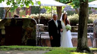 Renata & Chris  wedding video highlight at Sebastiani Winery in Sonoma