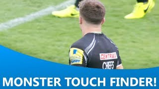 VIDEO Watch Henry Slades amazing lastgasp touchfinder for Exeter Chiefs Official against