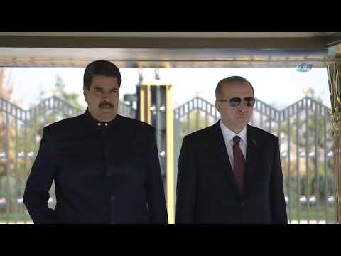 Cumhurbaşkanı Erdoğanı Venezuela Devlet Başkanı Nicolás Maduro Resmi Törenle Karşıladı 3.12.2018