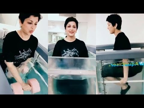 Sonali Bendre Shares Her Experience From Aqua Therapy Session
