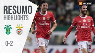 Sporting 0-2 Benfica All Goals & Highlights (Portuguese League 19/20 #17)
