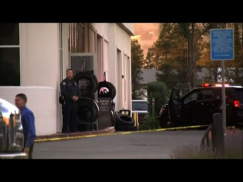 A man who had just been fired from a Northern California Ford dealership shot and killed two employees and then killed himself Tuesday evening, police and witnesses said. (June 26)