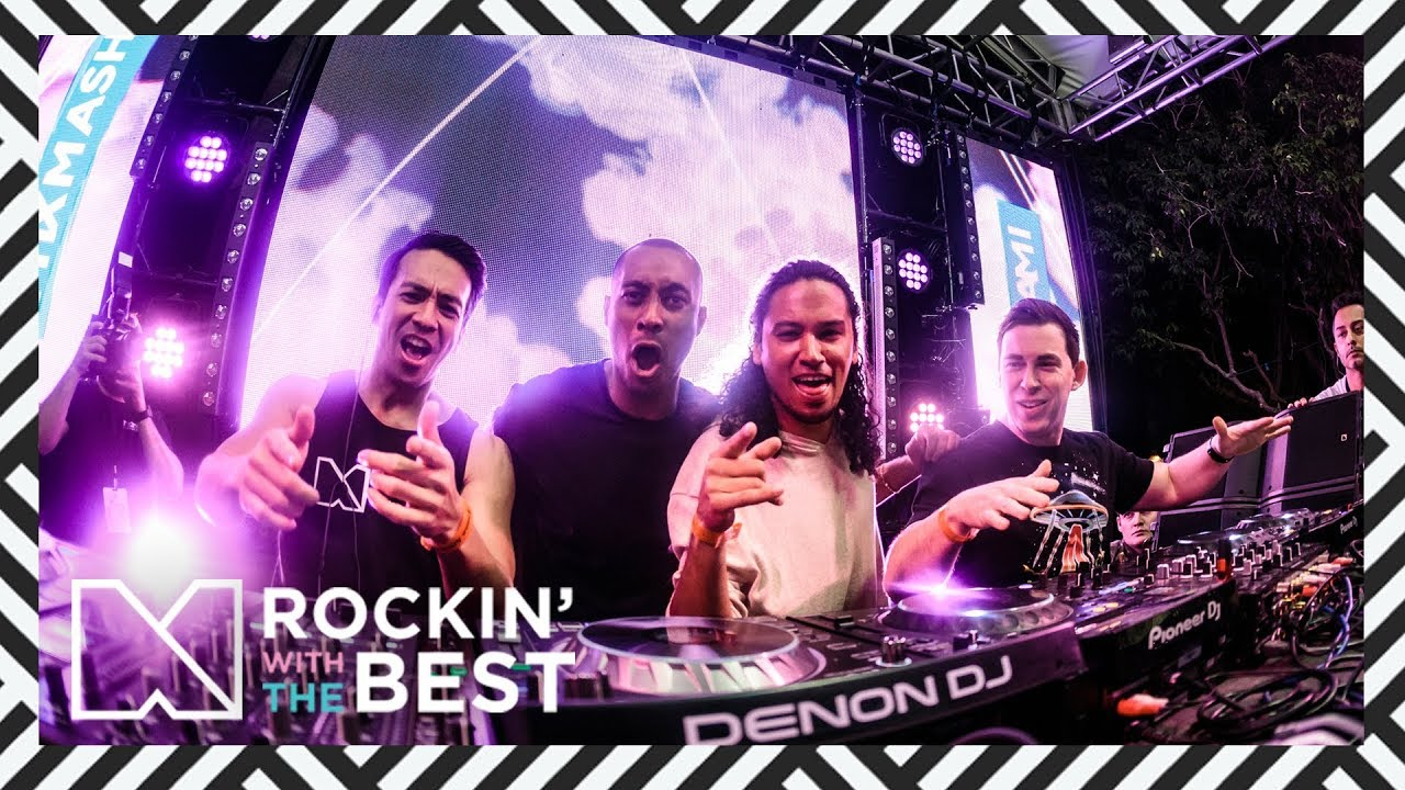 Laidback Luke B2B Hardwell, Afrojack, Sunnery James & Ryan Marciano and Chuckie - Live @ Mixmash Miami 2018