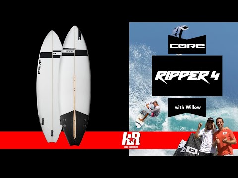 Core Ripper 4 Surfboard with Willow