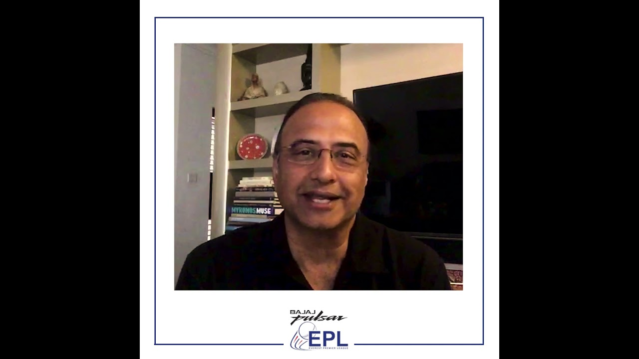 MR. CHARU SHARMA joins the commentary panel for BAJAJ PULSAR EVEREST PREMIER LEAGUE 2021