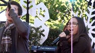 """Charice & David Archuleta """"Have Yourself A Merry Little Christmas"""", Sound-Check @ The Grove 11/21/10"""