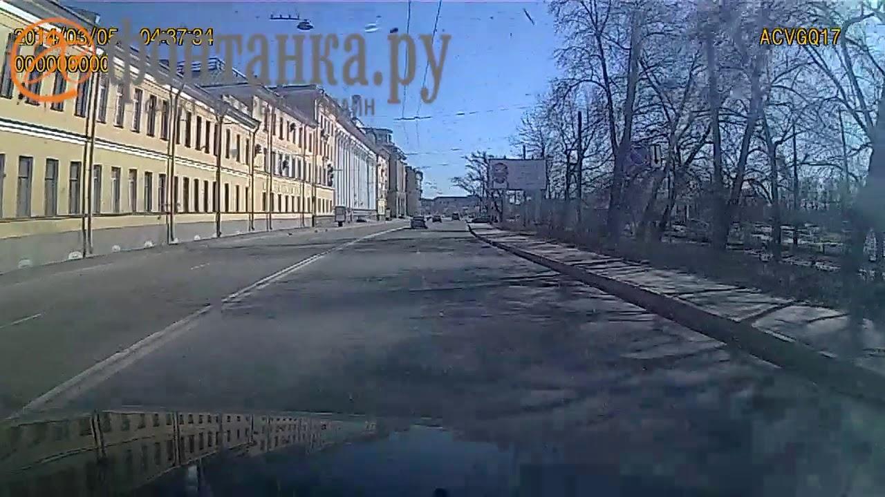 Взрыв в Академии Можайского попал на видео