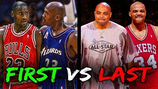 NBA Legends in their FIRST Game vs their LAST