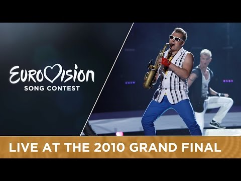 Sunstroke Project & Olia Tira - Run Away (Moldova) Live 2010 Eurovision Song Contest
