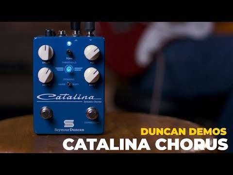 Digging into Dynamic Expression™ with the Catalina Chorus Pedal | Duncan Demos