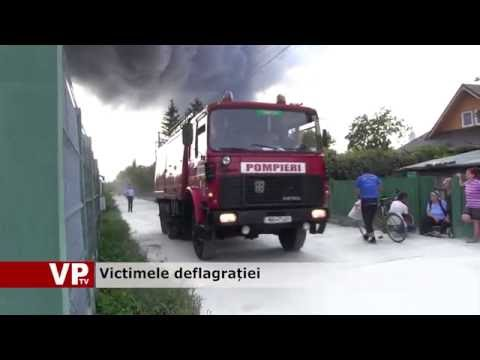 Victimele deflagrației