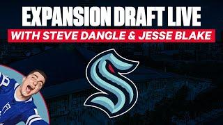 Watch The Seattle Kraken Expansion Draft LIVE w/ Steve Dangle & Jesse Blake