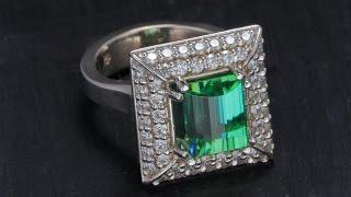 Setting A Custom Gemstone Ring