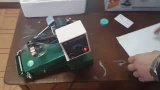 Датер ручной с термолентой (ставит дату на любые поверхности) от компании Группа Интернет-Магазинов GiX - видео