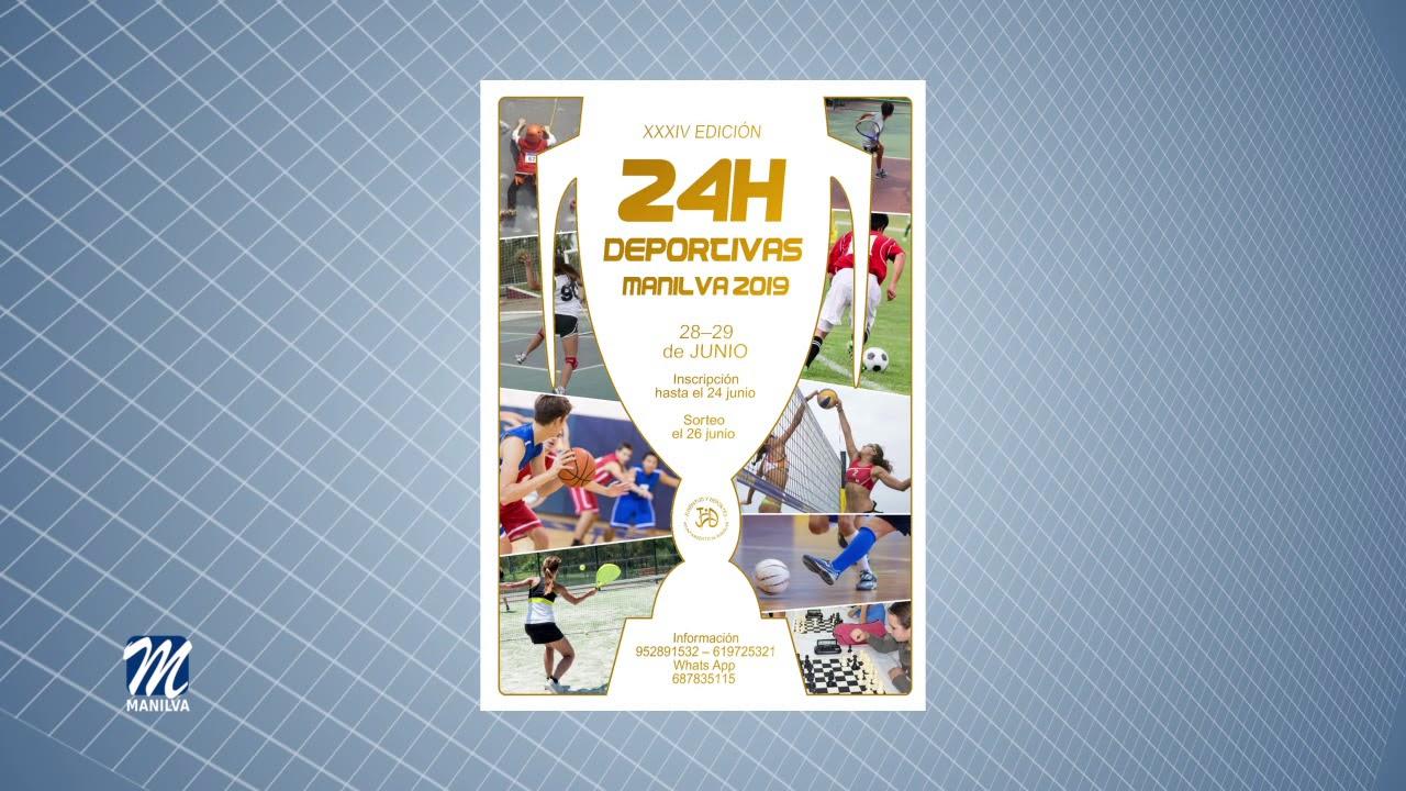 XXXIV 24 HORAS DEPORTIVAS DE MANILVA