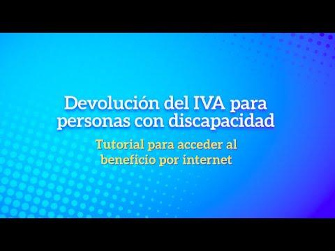 Ver el video Devolución del IVA a personas con discapacidad