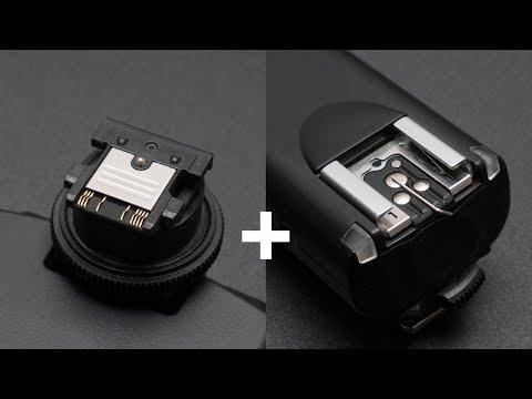 Blitz mit Sony Multi Interface Shoe mit Standard Blitzschuh auslösen! Tutorial Deutsch