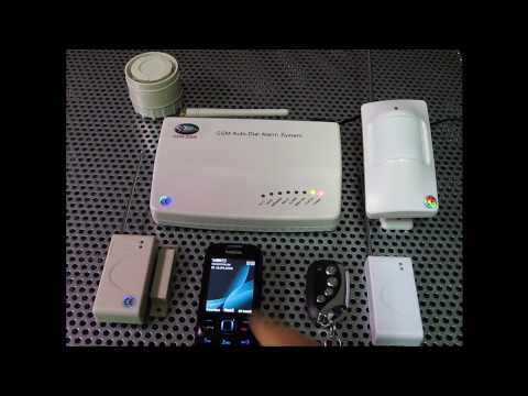 GSM-Alarm, GSM Alarmanlage mit Simkarte