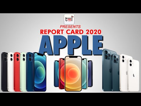 Report Card 2020: Apple