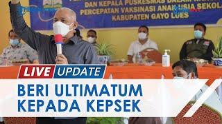 Vaksinasi Pelajar Selesai 30 September, Kadisdik Aceh Minta Kepsek Mundur Apabila Tak Laksanakan