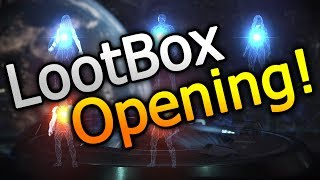 lootbox opening