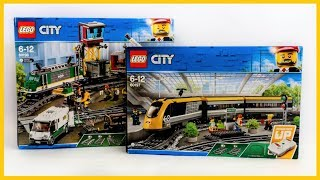 COMPILATION LEGO CITY TRAINS 2018