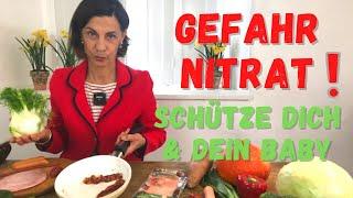 Nitrat in Lebensmitteln | Dagmar von Cramm erläutert den Zusammenhang zu Nitrit und Nitrosaminen