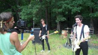 """The Downtown Fiction - Behind the Scenes: """"I Just Wanna Run"""" video shoot day #1"""