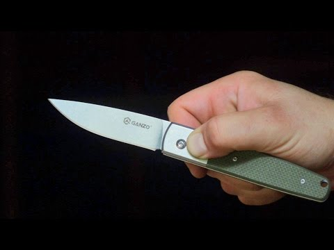 Budget Automatic Knife Review: Ganzo G7212 (3.3 inch blade, G10)