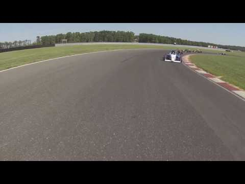F4 US NJMP Formation Lap View from Pace Car