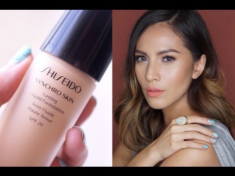 Synchro Skin Glow Luminizing Fluid Foundation SPF 20 by Shiseido #10