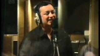 Boy George in the Studio Recording 'Stranger In This World' 1995