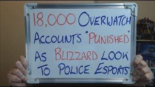 18,000 OVERWATCH Accounts