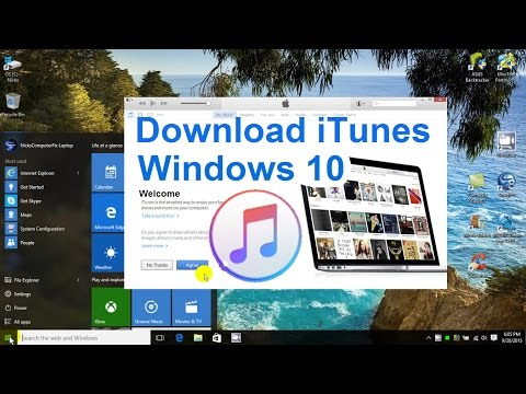 How to Download iTunes to your Computer - Windows 10 Free & Easy Install