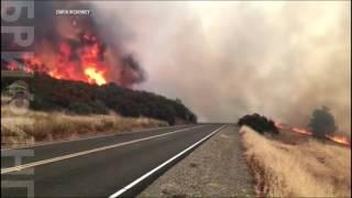 В Калифорнии продолжают бушевать лесные пожары