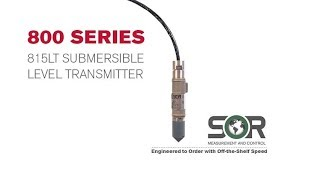 800 Series Webinar - With New 815 LT Submersible Level Transmitter