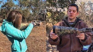 Складная нетонущая мелкашка - оружие выживания | Разрушительное ранчо | Перевод Zёбры
