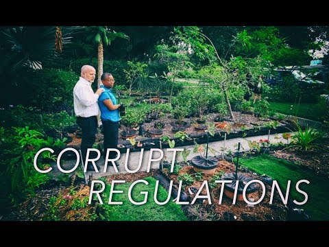Prohibition of Vegetable Gardens