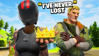 He Said He Never Lost To A Girl In Fortnite ... (Voice Changer Trolling)