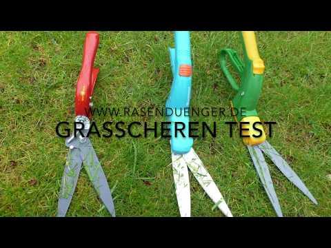 Handgrasscheren / mechanische Grasscheren im Test (März 2019)